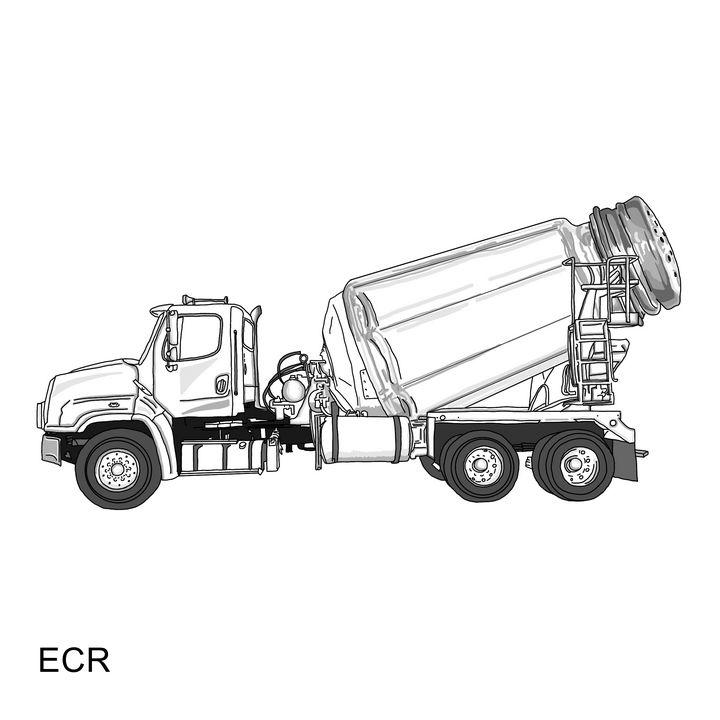 Salt Truck - Animated Spirit