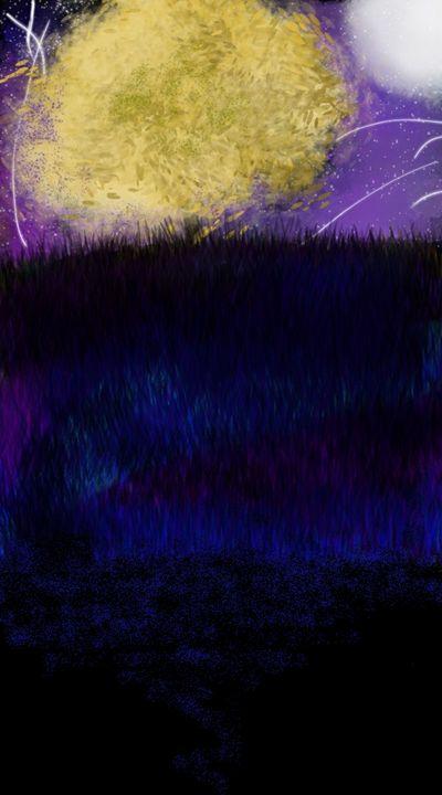 Purple Sky - Digital Media