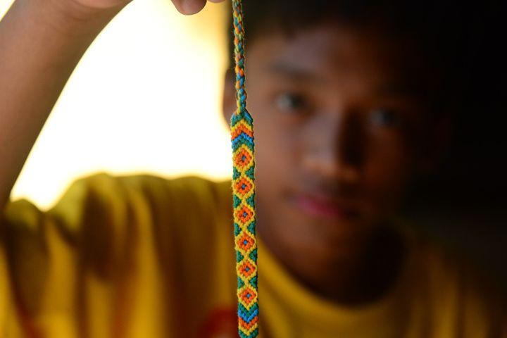 Bracelet Weaving - Metempsychosis