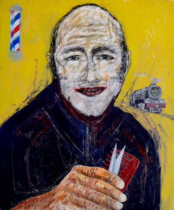 """""""Railway Barber-Joker Father"""" - Marius van Niekerk"""