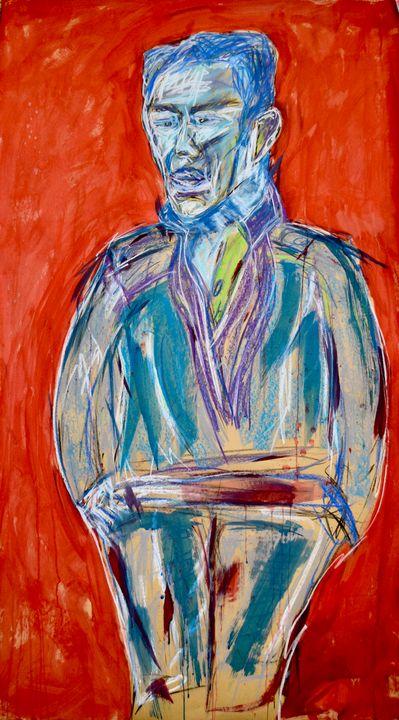 """""""Study for Portrait of a Man"""" - Marius van Niekerk"""