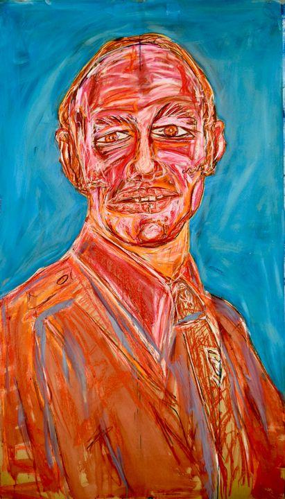 """""""Study for Portrait of a Father"""" - Marius van Niekerk"""