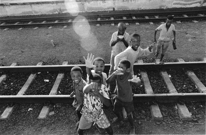 """""""Great Karoo Railway Kids"""" - Marius van Niekerk"""