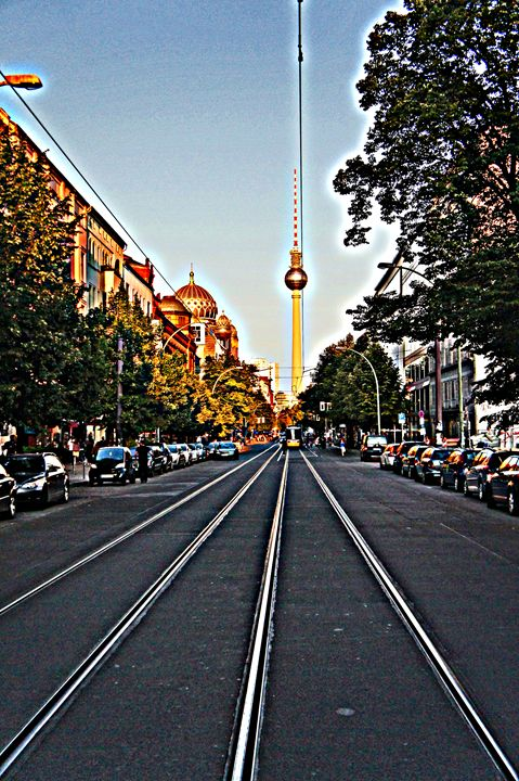 Berlin Street - City Streets by Paul Rausch