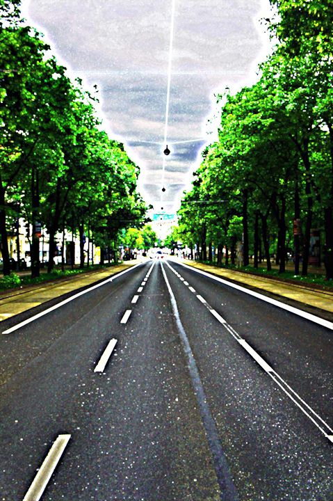 Vienna Ringstrasse - City Streets by Paul Rausch