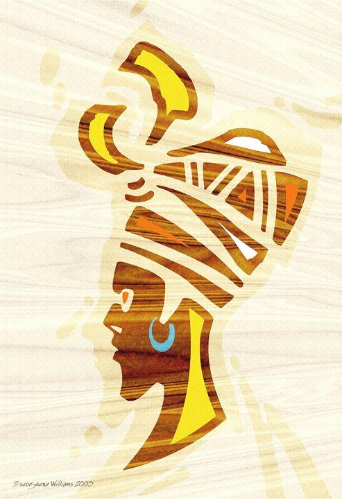 """""""Gele"""" African Head Gear - Erhariefe Ejiroghene Francis"""