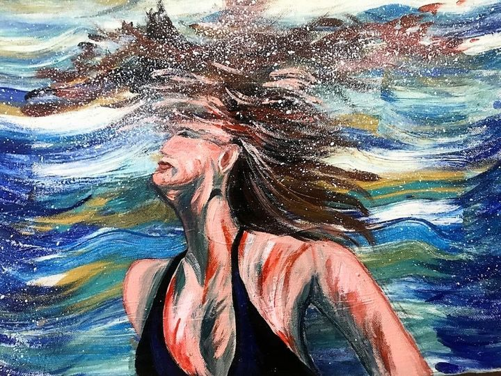 Underwater beauty - Doel's art gallery