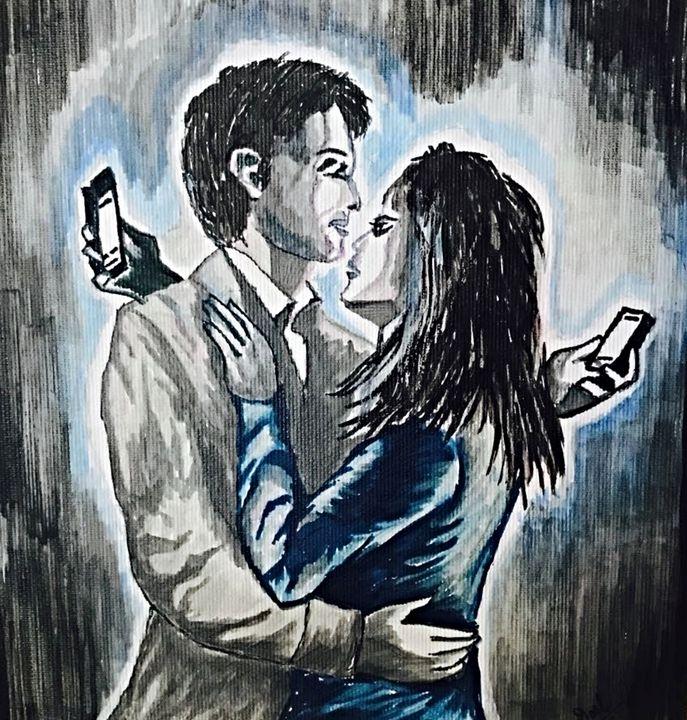 Today's digital relationship - Doel's art gallery