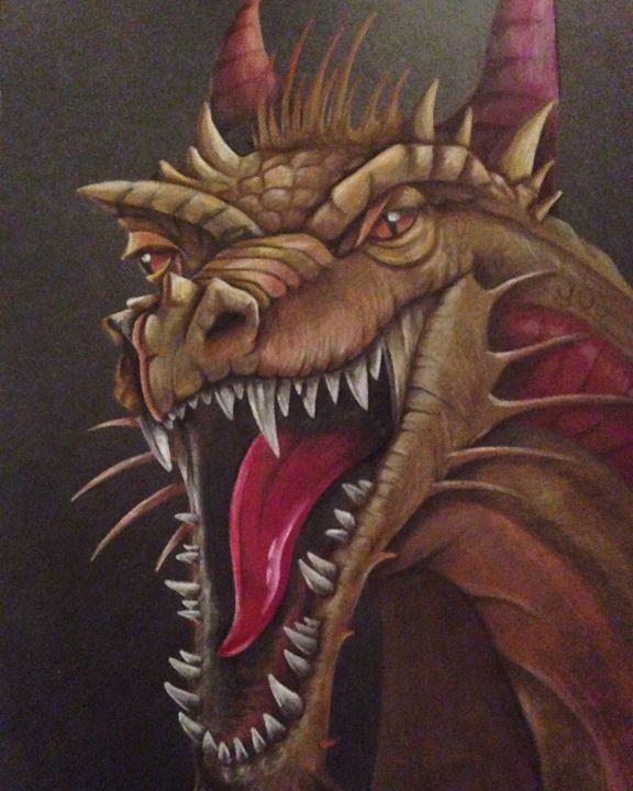 Dragon - Madison White