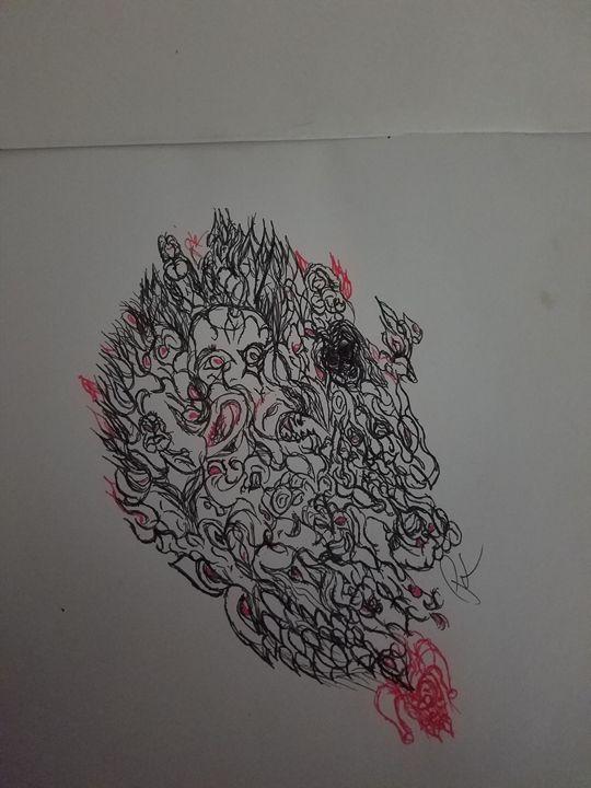 Anguish - Pete kez's creations
