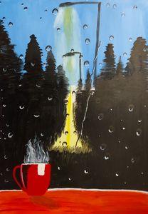 Rainy Night - Coffee time