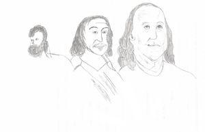 Face study sketch