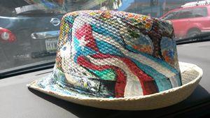 Cuba and Puerto Rico Art hat