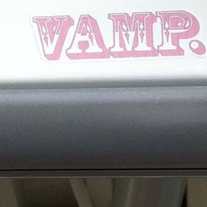"3x2"" Vamp Sticker"