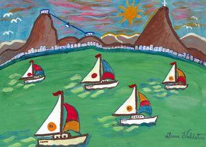 Regatta in Guanabara Bay