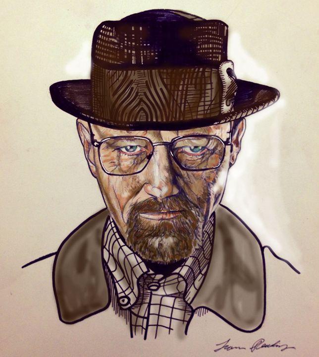 Heisenberg (color) - Liam Reading Designs