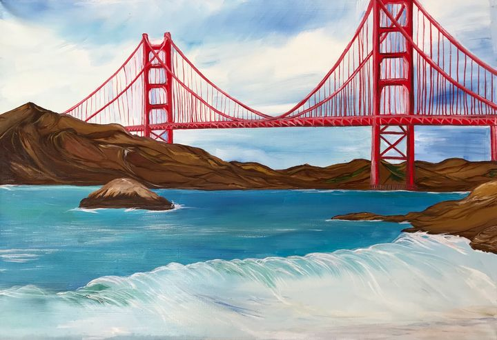 Golden Gate Bridge - Alina Morozova