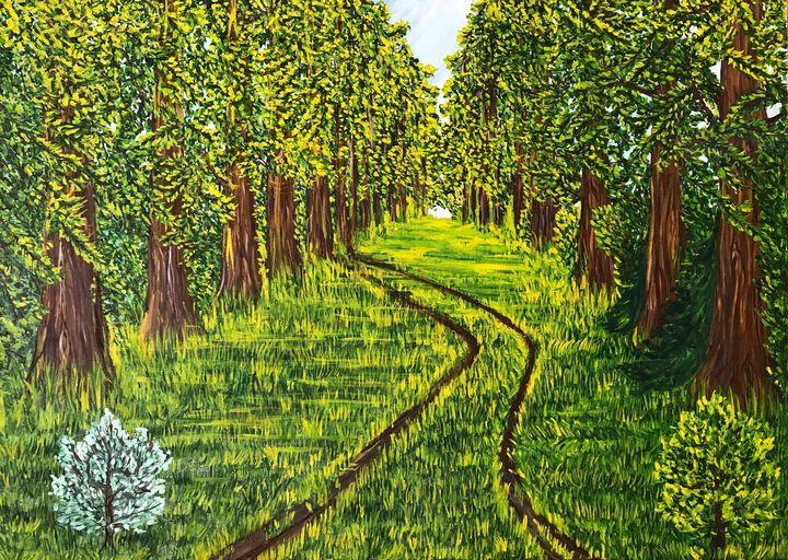 Oak trees - Alina Morozova
