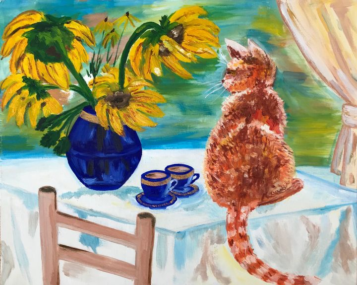 The cat is meow - Alina Morozova