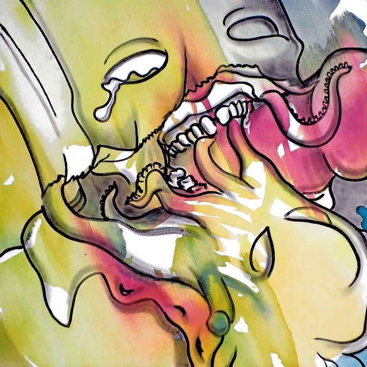 interpretation #86 - Paintings by Ignacio Mariño Larrique