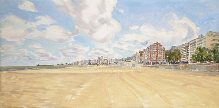 Pocitos 03 - Paintings by Ignacio Mariño Larrique