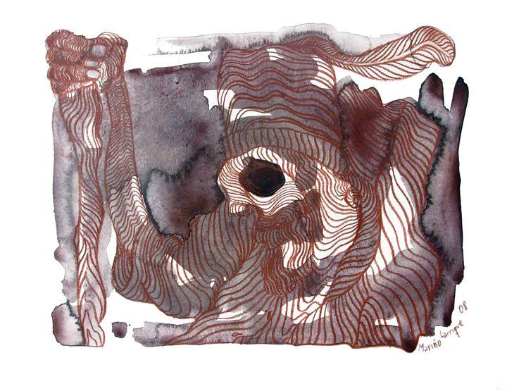 Interpretation #12 - Paintings by Ignacio Mariño Larrique