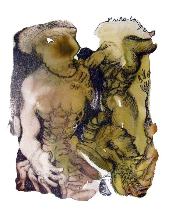 Interpretation #17 - Paintings by Ignacio Mariño Larrique