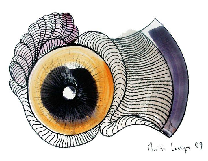 Interpretation #08 - Paintings by Ignacio Mariño Larrique