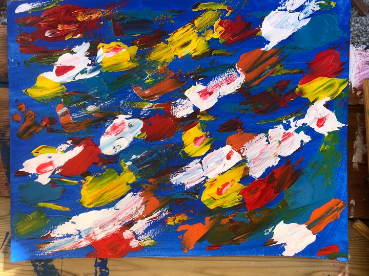 Acrylique d'émotion - Richard Pascal