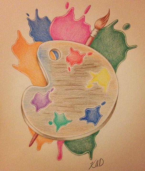 Paint Pallet - Kim Dennis