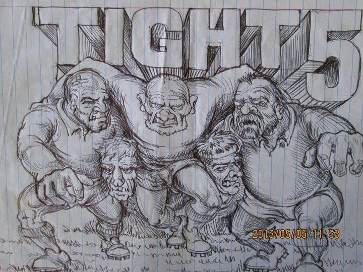 Rugby all over - Johan Taljaard/Boet/Tallies