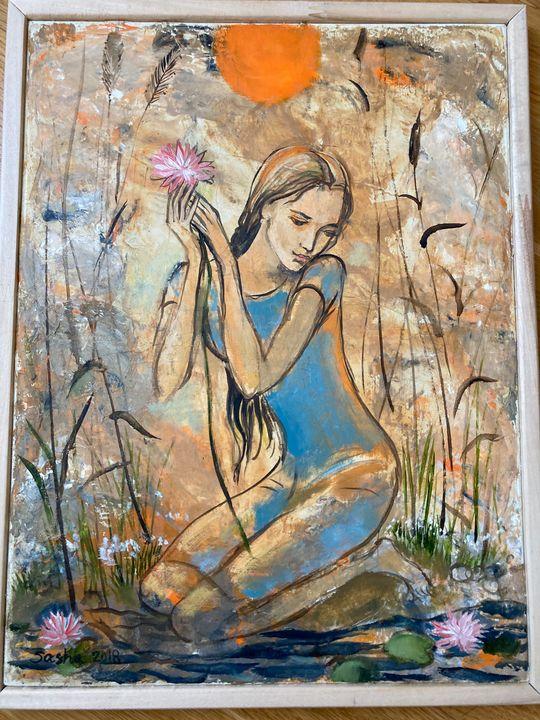 These flowers are like you... - Alexandra Bakhina