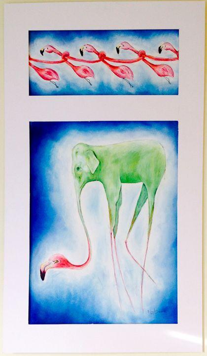 Flamingophants - Anastasia Ilina