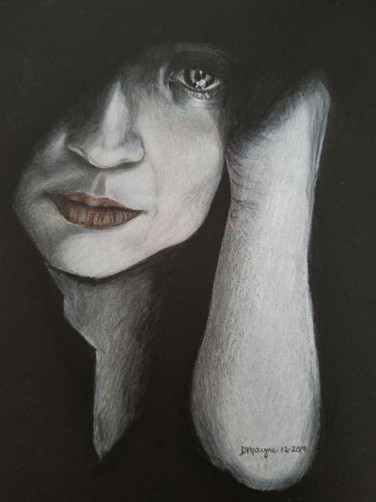Waiting - Dianne Mayne Art