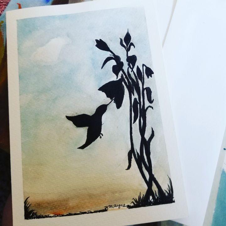 """""""Hummer"""" - Dianne Mayne Art"""
