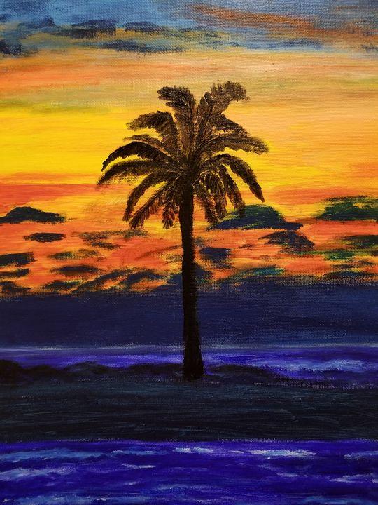 Sunset love - artbyprat2