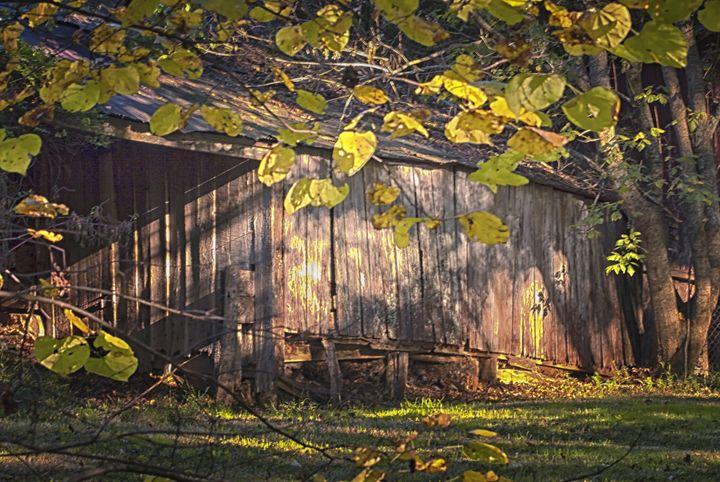 An Old Barn - HF Photography