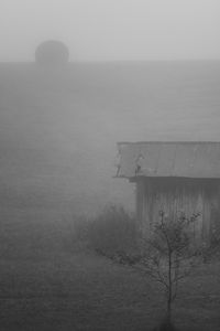 Smokehouse in Fog