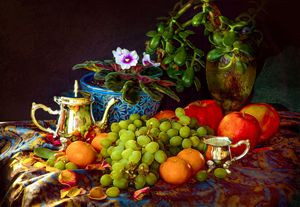 《Still life—Fruit》