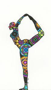 Mandala Yoga Pose