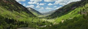 Telluride Valley CO - Wide View