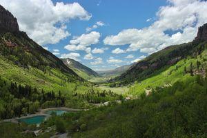 Telluride Valley CO