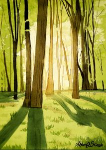 """Forest in the Summer"" - Sarah Kiczek"
