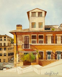 """Next to the Spanish Steps"" - Sarah Kiczek"