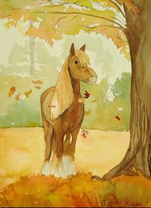 """Autumn Horse"" - Sarah Kiczek"