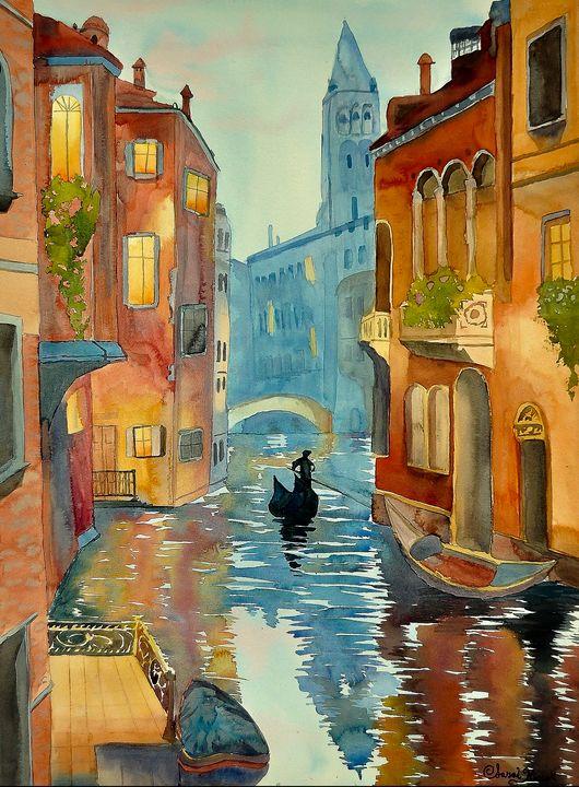 """""""The Gondolier"""" - Sarah Kiczek"""