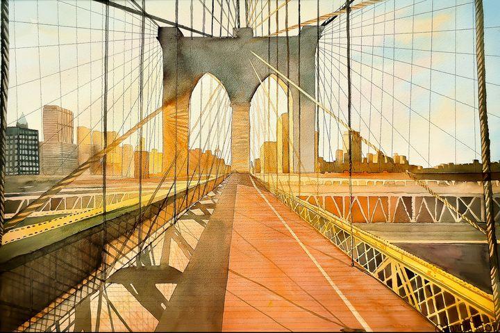 """""""The Brooklyn bridge"""" - Sarah Kiczek"""