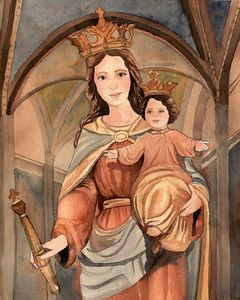 Mary help of Christians - Sarah Kiczek