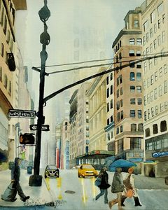 """""""West 35th Street"""" - Sarah Kiczek"""