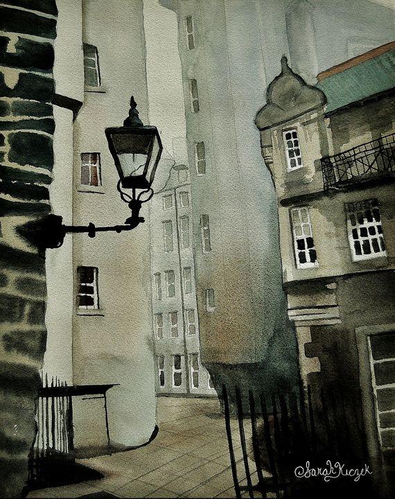 """""""The Gas Lamp - Sarah Kiczek"""